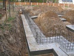 Строительство фундамента под ключ. Ростовские строители.